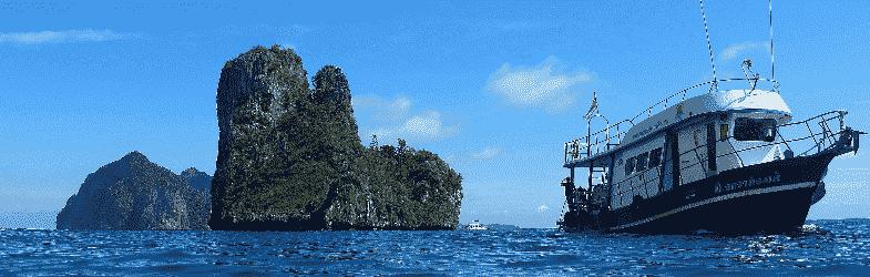 潜水在 皮皮岛 Phi Phi